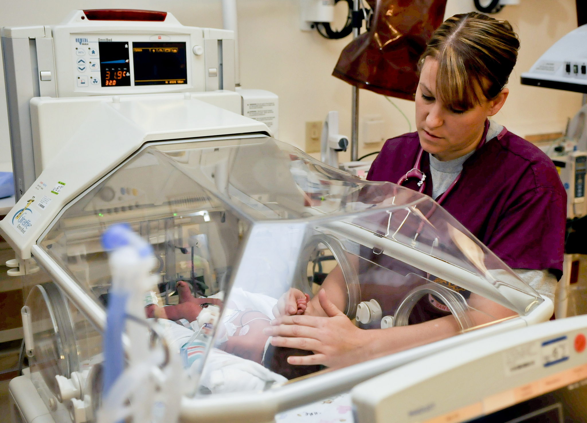 Nurse and Baby Pic from flickr